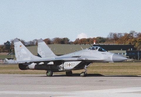 MiG29 29+07-2