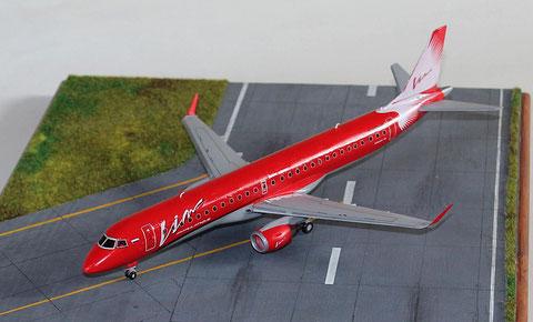 """ERJ-195-200LR  """" G-FBEE """"  VIM Avia  Revell  1/144 -1"""