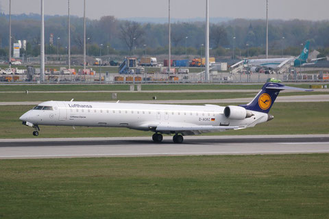 "CRJ-900  "" D-ACKC ""  Lufthansa CityLine -2"