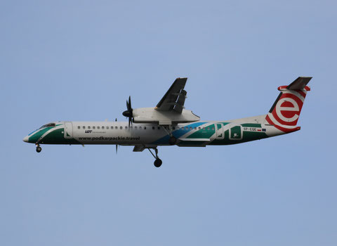 "Dash 8-402Q "" SP-EQE "" EuroLot -3"