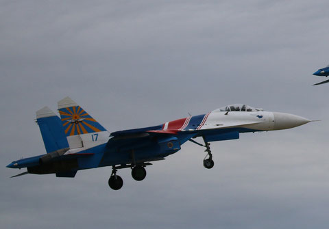 "SU 27P  "" 17 ""  Russian Knights / Russian Air Force -1"