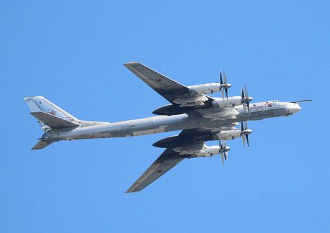"TU 95MS "" RF-94126 "" Moskva  Russian Air Force -2"