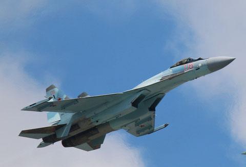 """SU 35S """" 06 """" RF-95850  Воздушно-космические силы        ( ВКС ) Россия -1"""