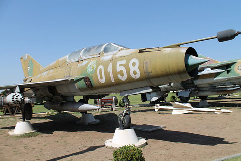 "MiG 21UM  "" 0158 ""  Hungarian Air Force -1"