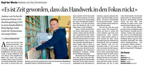 Quelle: Schaffhauser Nachrichten, 7. November 2013