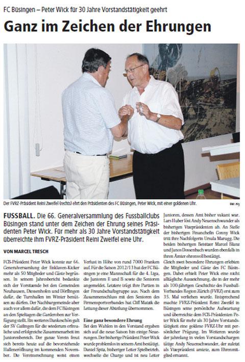 Quelle: Schaffhauser Bock, 11. September 2012