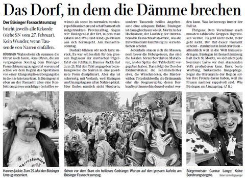 Quelle: Schaffhauser Nachrichten, 29.02.2012