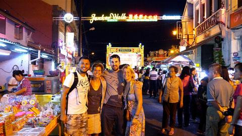Dingo, Fudgie, Duncan & Harriet in Melaka, Malaysia