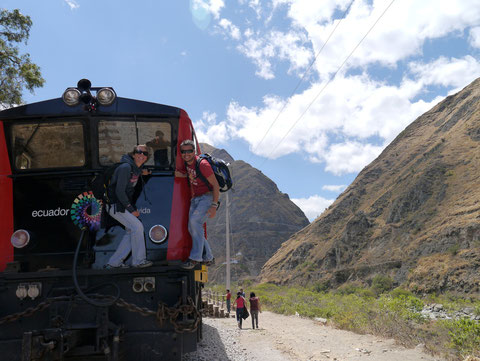 Nariz del Diablo Tren, Alausi, Ecuador
