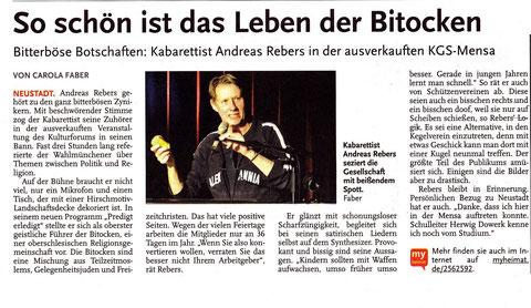Leine-Zeitung vom 18.11.2013
