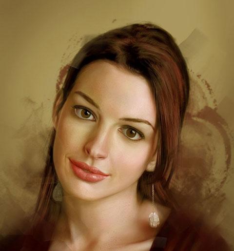 Портрет Anne Hathaway