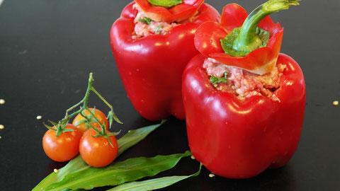 Légumes farcis à la farce de veau