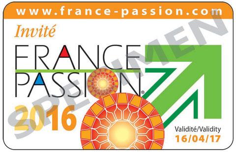 Carte France Passion