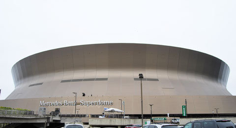 Superdome - Home of the New Orleans Saints photographed by Heidi Mergl Architect