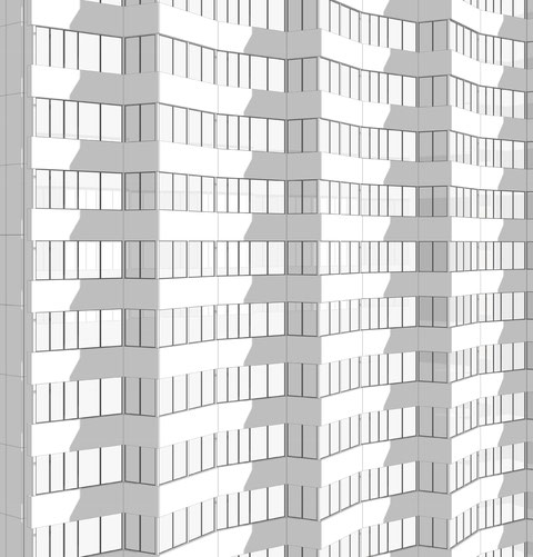 Arlington House Elevation Graphic by Heidi Mergl Architect