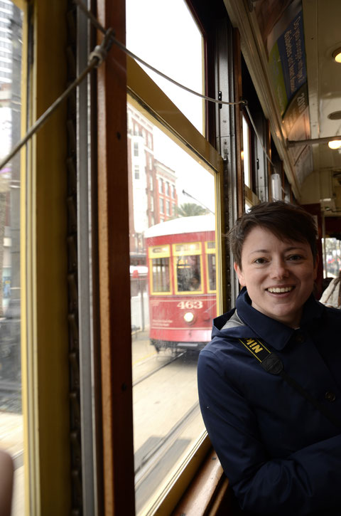 Historic Streetcars in New Orleans Heidi Mergl Architect