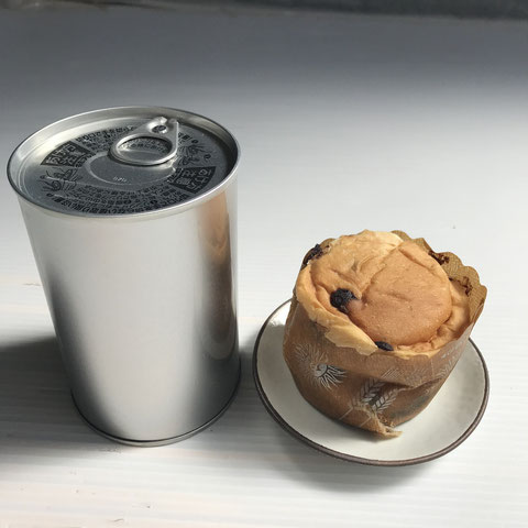 備蓄用 缶入りのパン