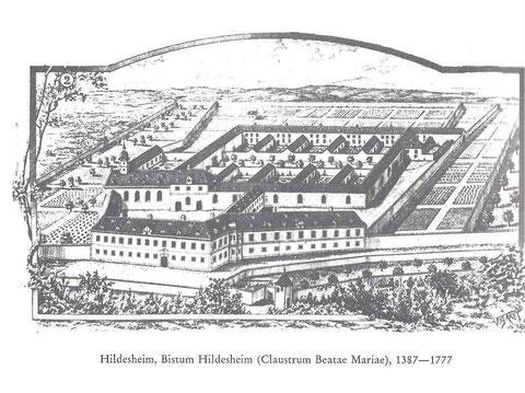 Die ehemalige Stadtkartause, ist heute das St. Bernward Krankenhaus.