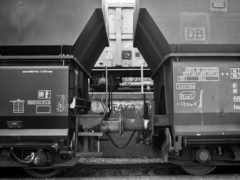 Güter-Bahn-Wagons