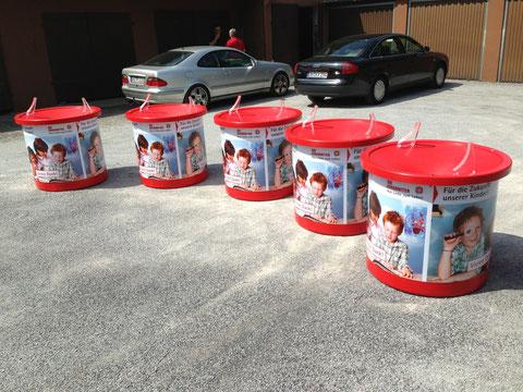 Spenden-Trichter