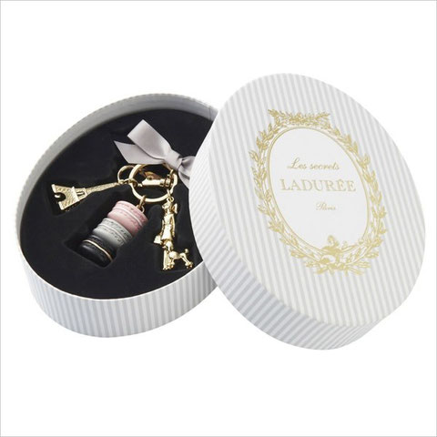 Laduree Parisienne Rose Key Ring