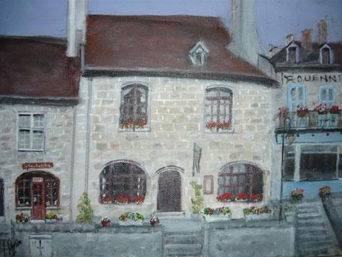 La Maison du Pélerin, Lieu de l'exposition à Souvingy