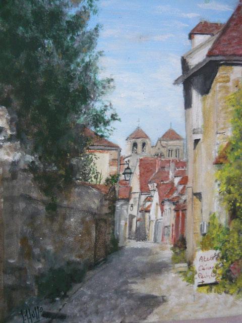La Rue du Chapeau Rouge à Souvigny