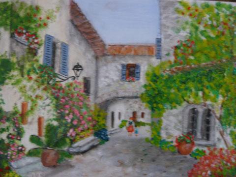 Un coin de village provençal