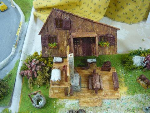 'La petite maison dans la prairie intérieur, extérieur