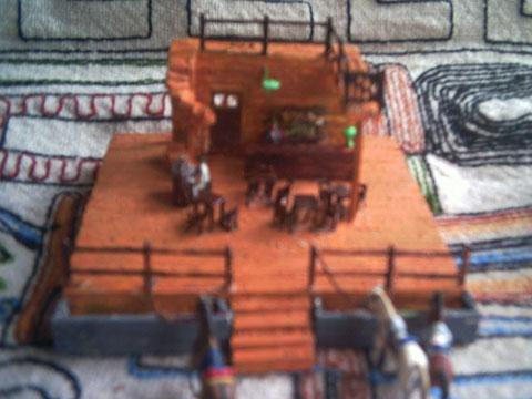 Intérieur du saloon