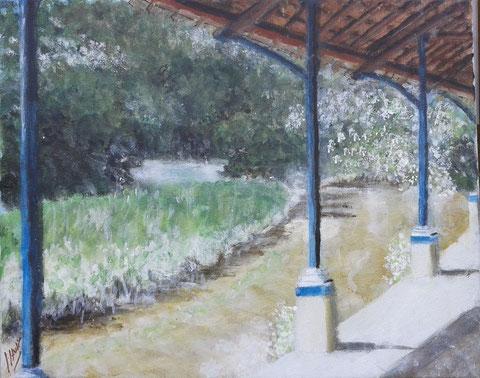 L'ancien lavoir de Souvigny