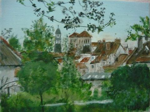 Une vue de Souvigny