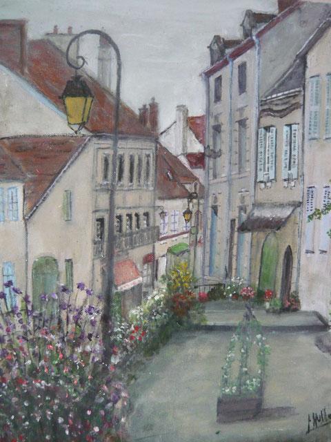 Rue Cordier en Septembre à Souvigny