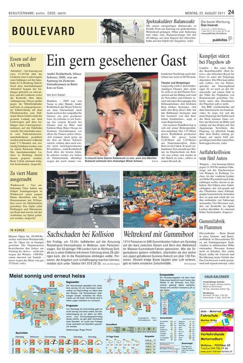 Reithebuch_Denner_Satellit_Buttikon_Kurt_Kassel_Artikel Marchanzeiger_Höfner_Maag-isch