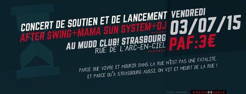Mama Sun System, mudd club, dub strasbourg