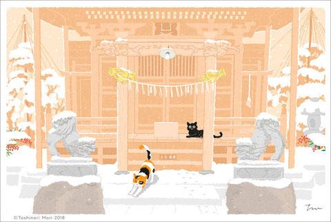 たびねこ|南天神社