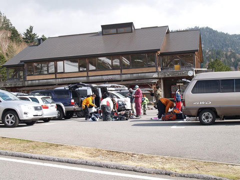 三本滝レストハウス駐車場