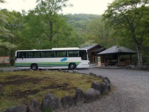 千手ヶ浜バス停(トイレ有り)