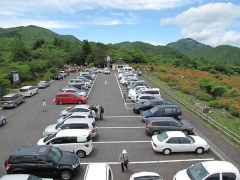 大間々駐車場(展望台から)