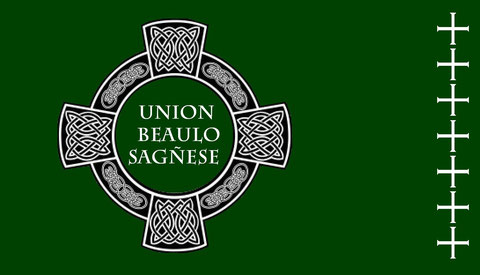 Current Flag of the Union Beaulosagñese ©
