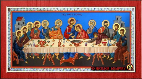 the Last Supper, the event where the Grail was present