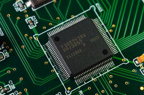 Laserbeschriftung Elektronic IC
