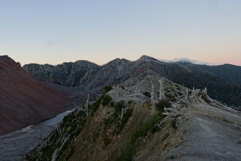 Vue volcan Chaiten