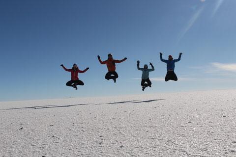 Salar d'Uyuni saut a 4