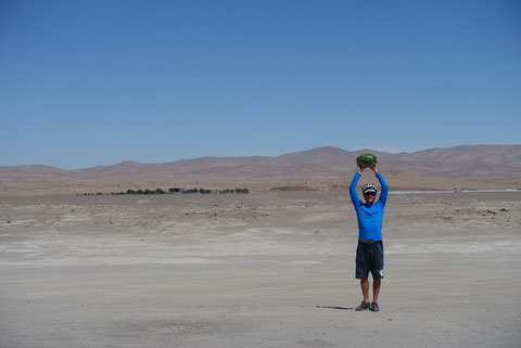 Pasteque au milieu du desert