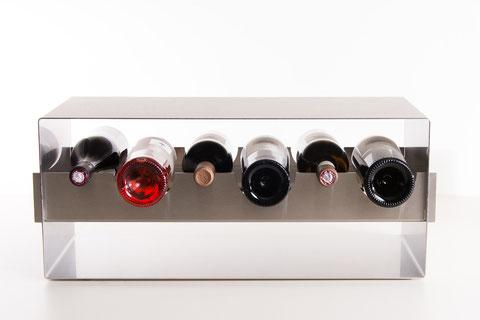 Grand Cru – Design Weinregal / Flaschenregal für Gastronomie und Profiküche