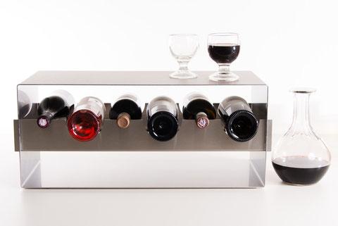 Weinregal – Design zur Präsentation für besondere Weine – Küche / Gastro