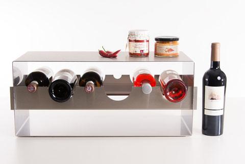 Weinregal – Design für Wein und Feinkost
