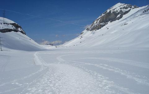 Daubensee in winter