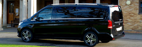 Gamprin Chauffeur, VIP Driver and Limousine Service – Airport Transfer and Airport Taxi Shuttle Service to Gamprin or back